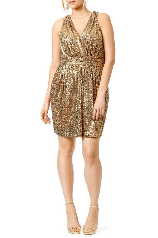 "<a href=""https://www.renttherunway.com/shop/designers/badgley_mischka/draped_in_gold_dress"" target=""_blank"">Badgley Mischka d"