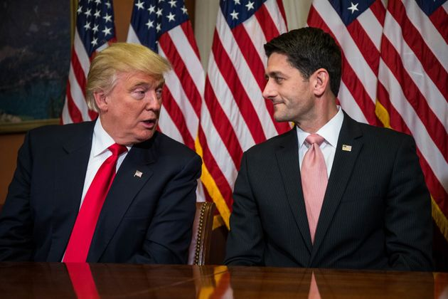 Paul Ryan plans to use Trump's chaos to destroy Medicare, Medicaid, and Social Security.
