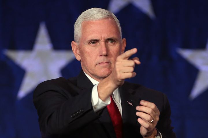 As does Vice-President Mike Pence