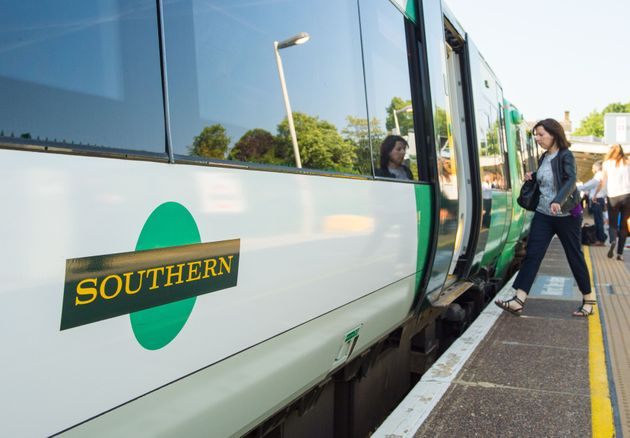 A Southern rail train as a deal to end the Aslef dispute over driver-only trains on Southern Railway...