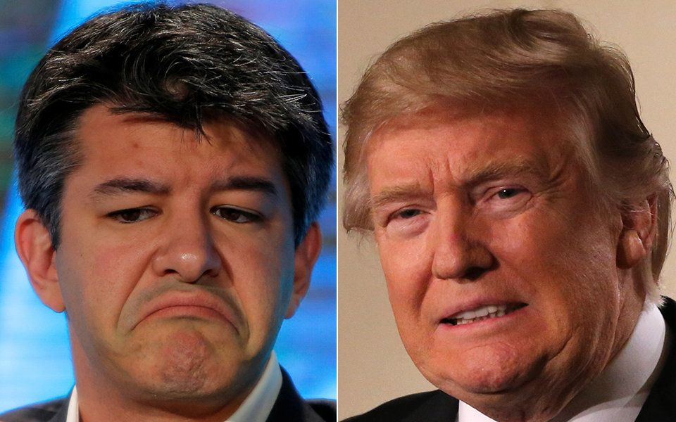 Uber CEO Travis Kalanick Stepping Down From Trump Economic Advisory