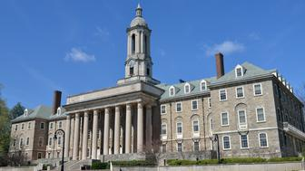 Old Main building in the main campus of Pennsylvania State University, State College, Pennsylvania, USA
