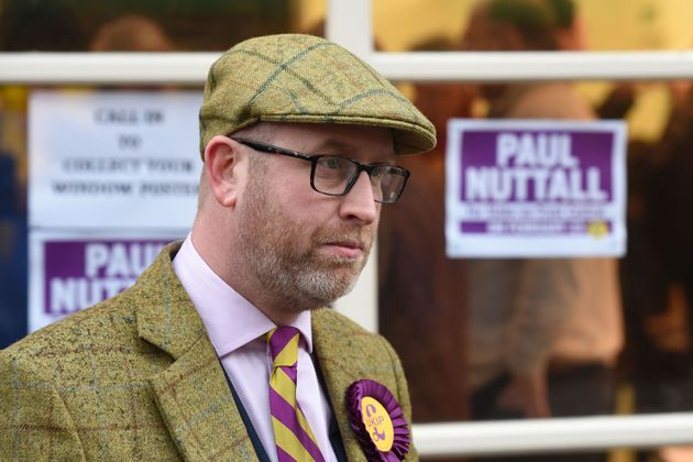 Police are investigating allegations of election fraud after Ukip's Paul Nuttall (pictured) listed...