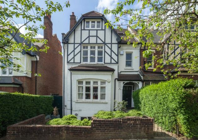 The two-bedroom conversion in Muswell Hill's Cranley Gardens is for sale at