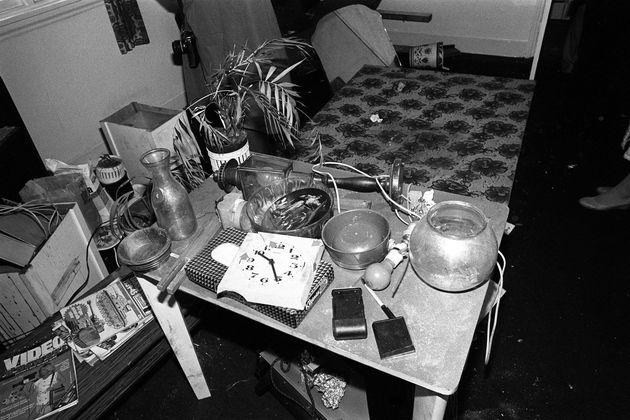 Nilsen's belongings in the