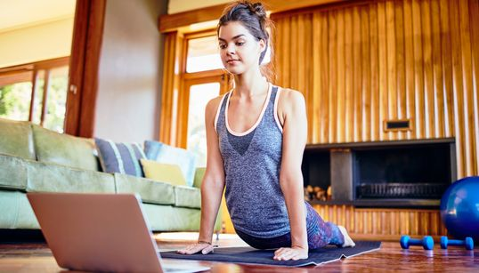 how to make your own yoga retreat at home