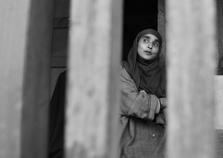 After losing two husbands to the conflict in Kashmir, Shareefa Begum is choosing to adapt to a life of ostracism and poverty