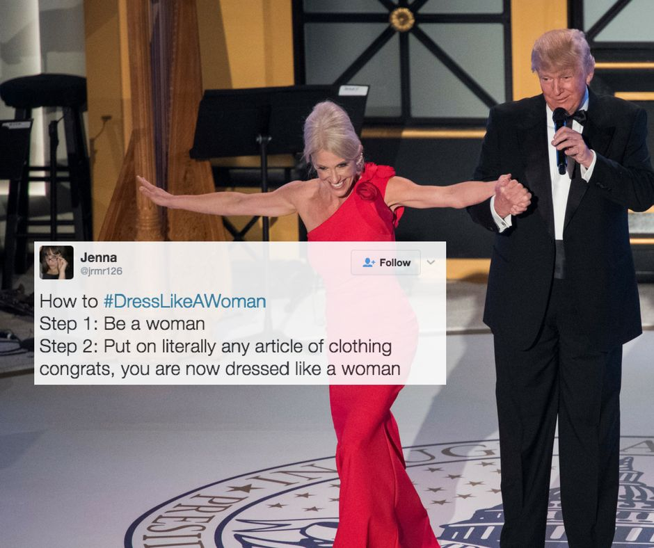 5894a7a125000034080b6b9c?cache=mgvtzkwmbe&ops=crop_5_45_935_574scalefit_720_noupscale 21 women respond to trump telling female staff to 'dress like