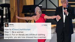 21 Women Respond To Trump Telling Female Staff To 'Dress Like