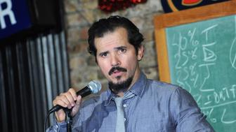 NEW BRUNSWICK, NJ - JANUARY 29:  John Leguizamo performs at The Stress Factory Comedy Club on January 29, 2015 in New Brunswick, New Jersey.  (Photo by Bobby Bank/WireImage)