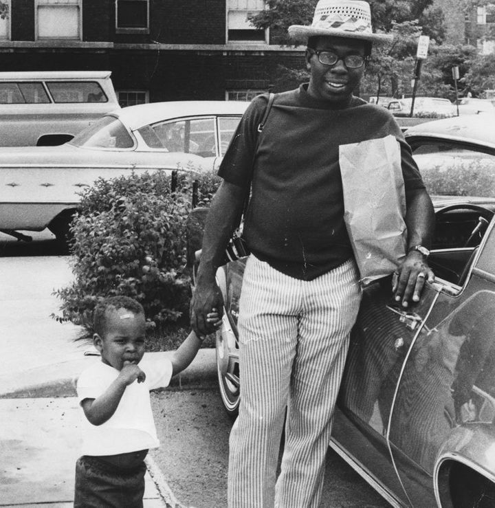 Curtis and Todd Mayfield, Chicago 1968.