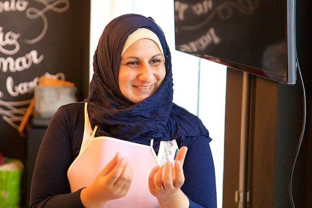 Muna Darweesh a Syrian refugee and now a successful cook in Sao Paulo Brazil
