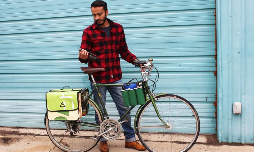 "<a rel=""nofollow"" href=""https://www.greengurugear.com/"" target=""_blank"">Green Guru</a>'s handy upcycled bike accessories make"