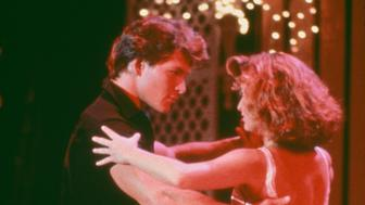 American actors Patrick Swayze (1952 - 2009) and Jennifer Grey star in the film 'Dirty Dancing', 1987. (Photo by /Getty Images)