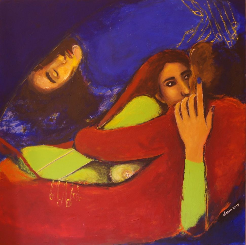 "Darin Ahmad, ""Bless Those Wonderful Nights,"" Syria. Inspired by a poem by Nazhun.<br><i></i>"