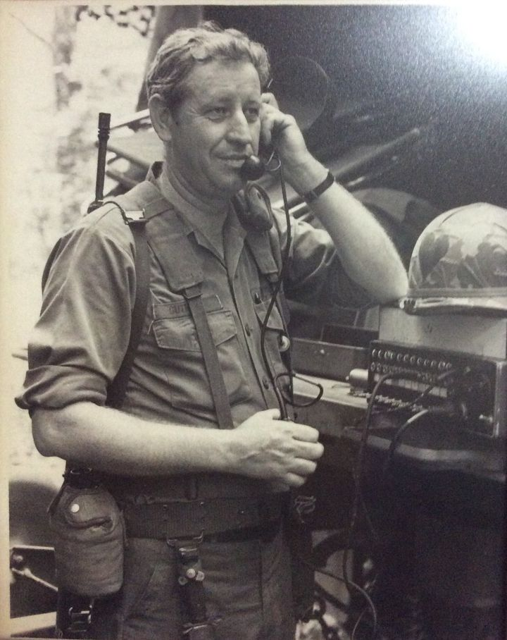 This is my grandpa in Vietnam (he adopted my mom when he married grandma forever ago).