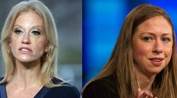 Feuding Chelsea Clinton And Kellyanne Conway Go At It On