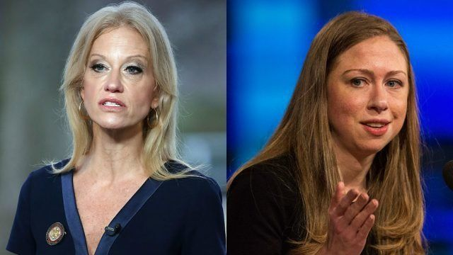 Kellyanne and Chelsea to head-to-head on Twitter