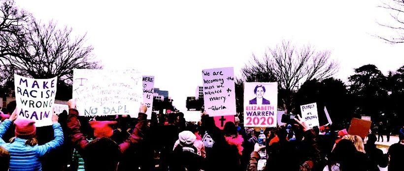 The Womens March on Washington, January 21, 2017