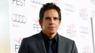 """Director and cast member Ben Stiller poses at the premiere of """"The Secret Life of Walter Mitty"""" during AFI Fest at the TCL Chinese theatre in Hollywood, California November 13, 2013.    REUTERS/Mario Anzuoni  (UNITED STATES - Tags: ENTERTAINMENT)"""
