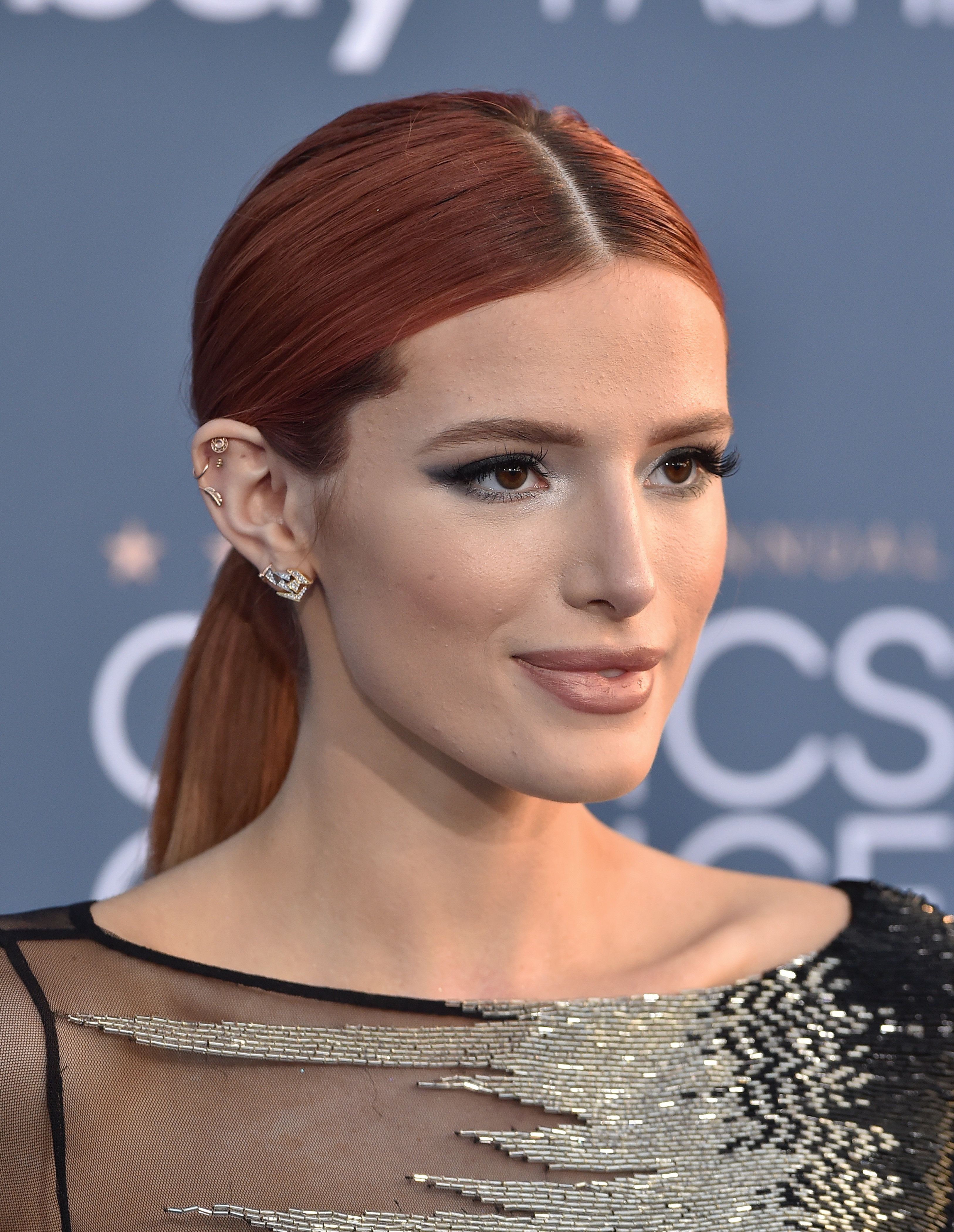 Bella Thorne arrives at The 22nd Annual Critics' Choice Awards in 2016.