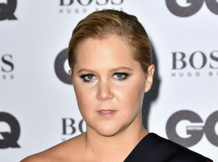 Amy Schumer arrives at the GQ Men Of The Year Awards 2016.