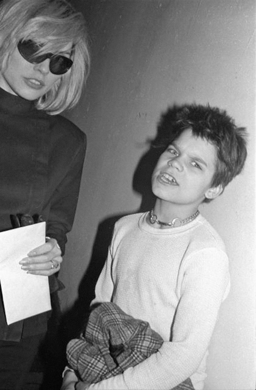 Young Harley and Debbie Harry.