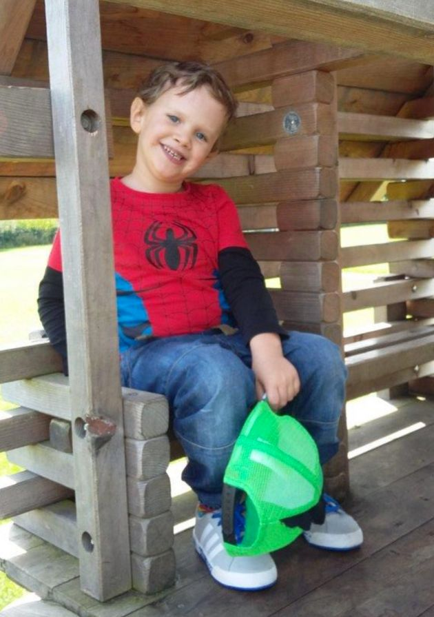 Theodore Silvester, 5,is believed to have died after choking on his food during a lunch break at