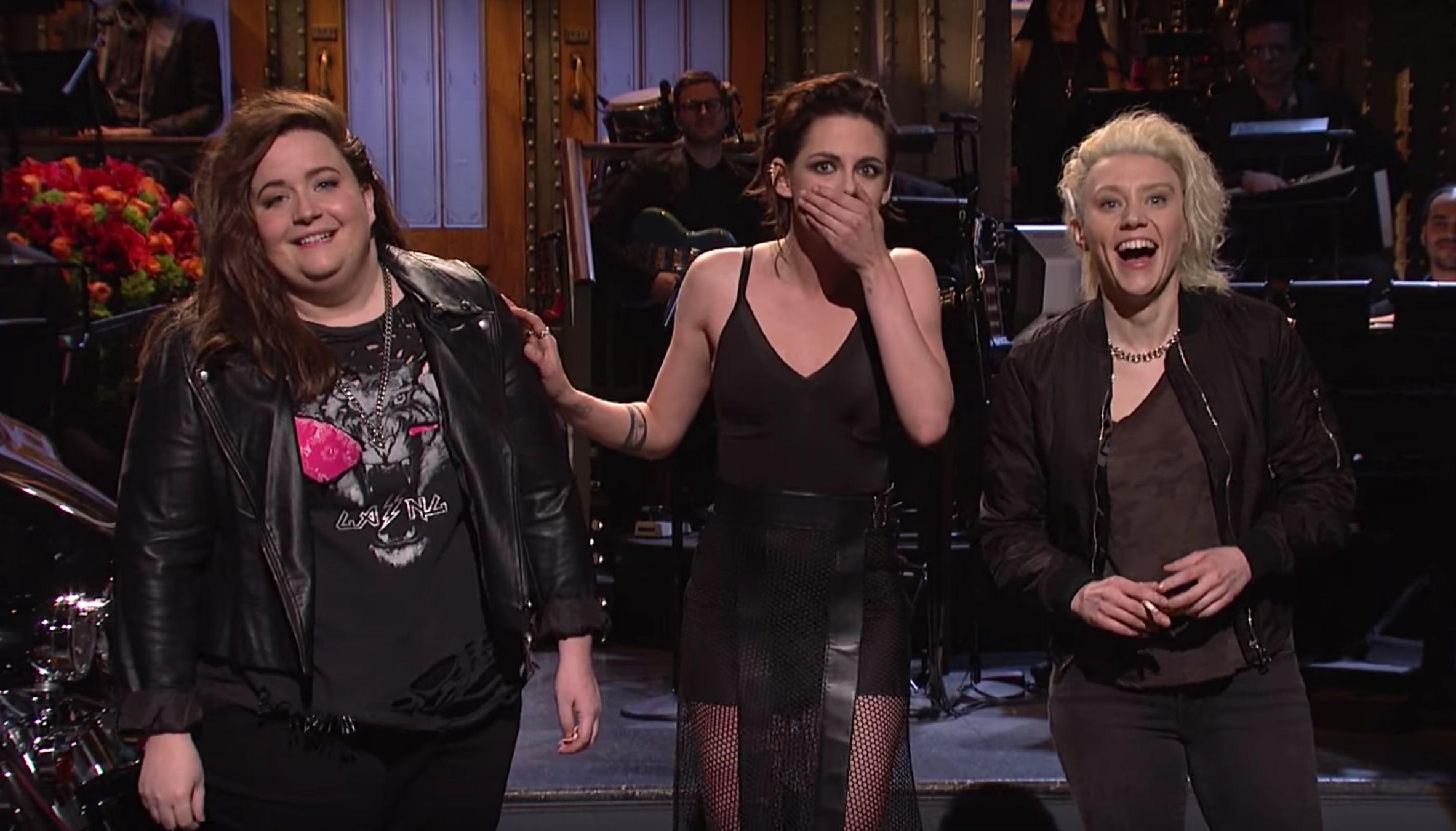 Kristen Stewart Drops The F-Bomb During 'Saturday Night Live'