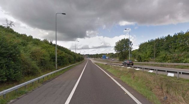 Human remains werefound near the busy A404 slip road in High