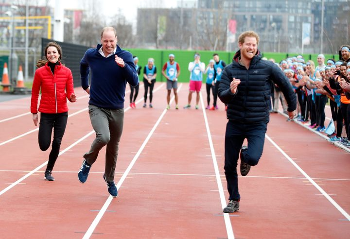 Please take a moment to appreciate how flawless Kate Middleton looks while she runs.