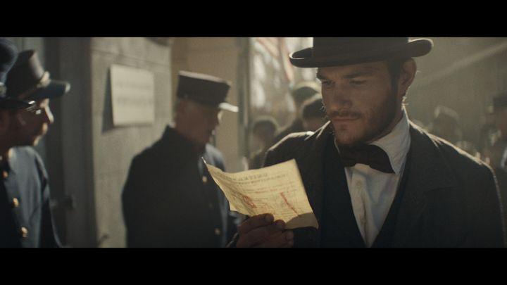 "Scene from ""Born the Hard Way"" Super Bowl ad, 2017"
