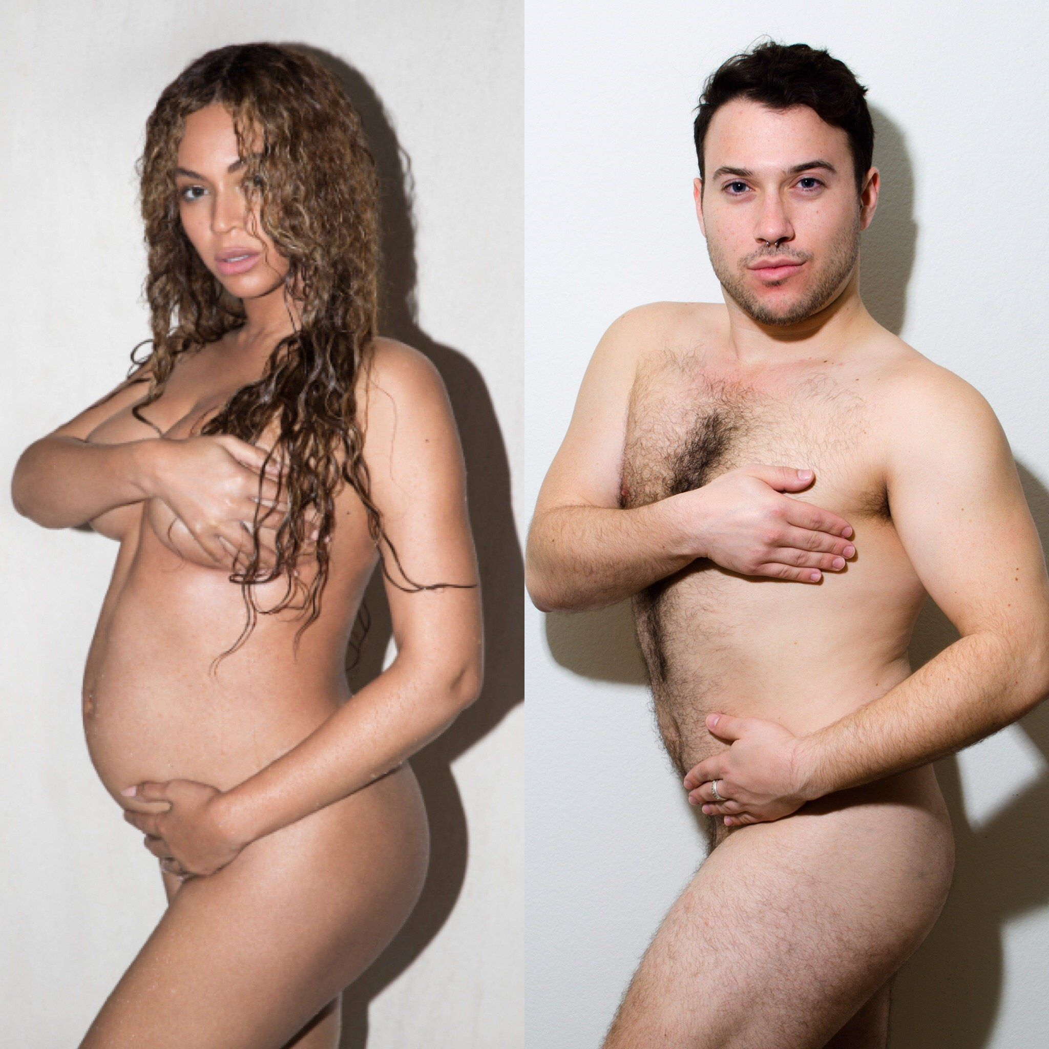 "Ben Yahr said his goal in re-creating Beyoncé's pregnancy album was to ""encourage everyone to embrace their"