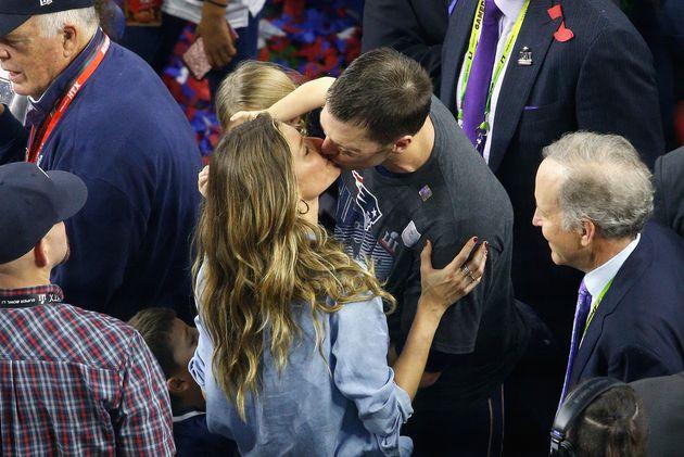 Gisele celebrated husband Tom Brady's fifth Super Bowl