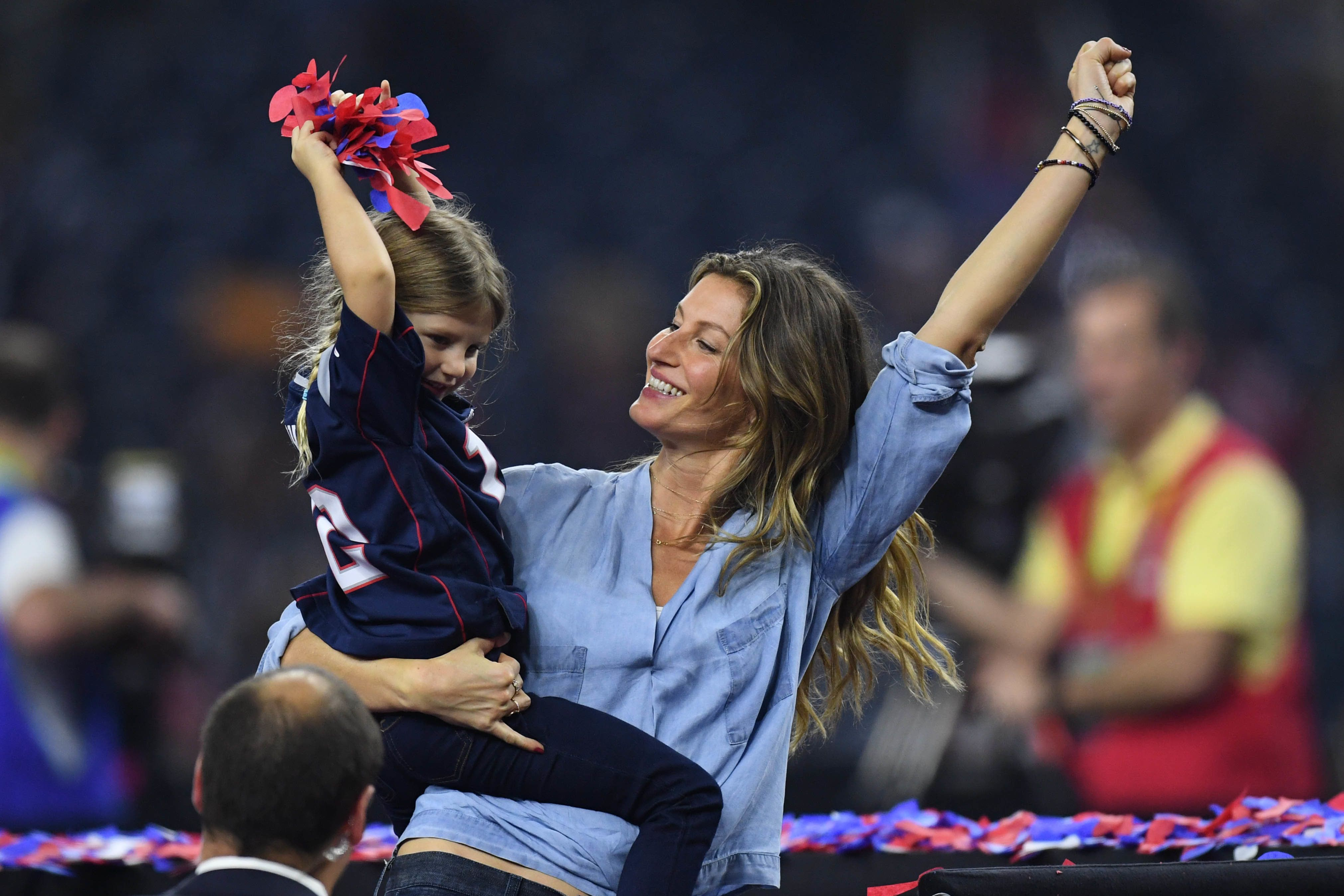 Gisele Absolutely Loses It After Patriots' Super Bowl