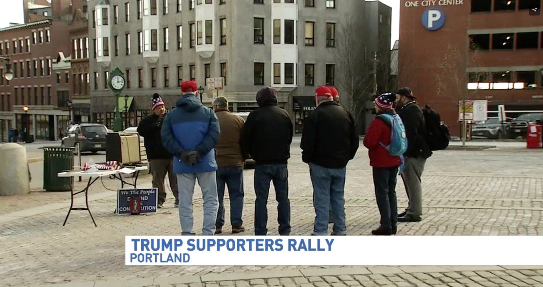 World's Saddest Trump Rally Draws Just 8