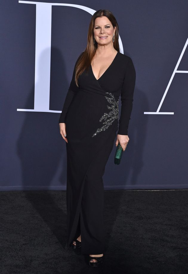 Marcia at the 'Fifty Shades' premiere last