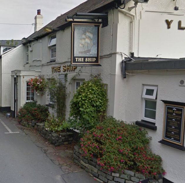The man was found with gunshot wounds in the car park of the Ship Inn (file