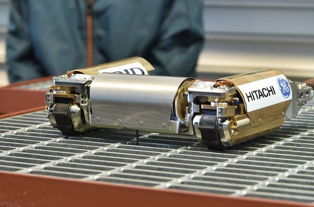 This robot will be remotely operated as it is inserted into the reactor at the Tokyo Electric Power Fukushima...