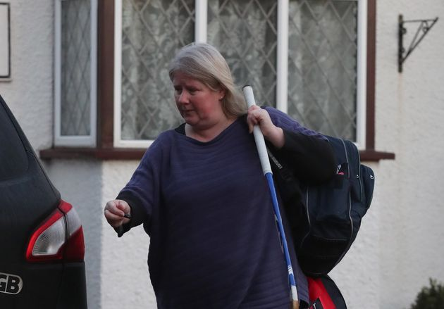 Kirsten Farage leaves the family home in Kent after reports that Nigel Farageshared his London...