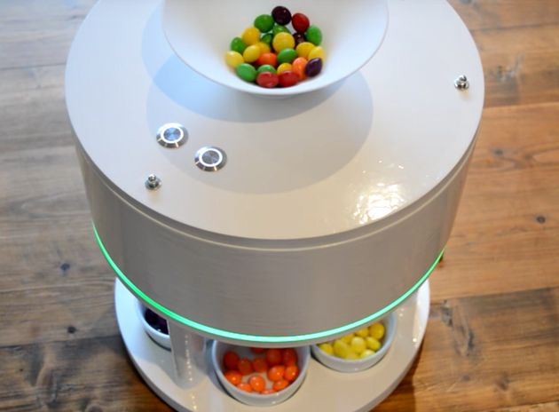 Glorious Sorting Robot Lets You Eat Skittles In Whatever Order You