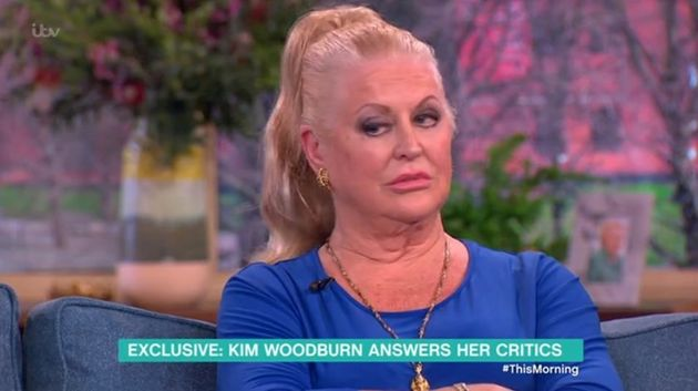 Kim Woodburn made a memorable appearance on 'This