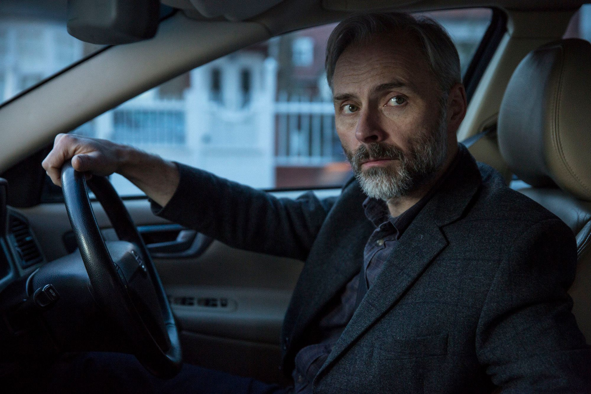Mark Bonnar plays flawed but supportive husband Gary in 'Apple Tree Yard' which concludes
