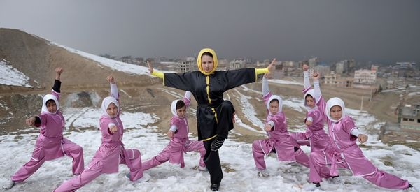 Stunning Photos Of The Young Afghan Girls Fighting Stereotypes With Martial Arts