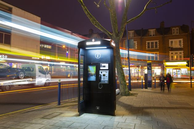 The Iconic Red Telephone Box Gets A 21st Century