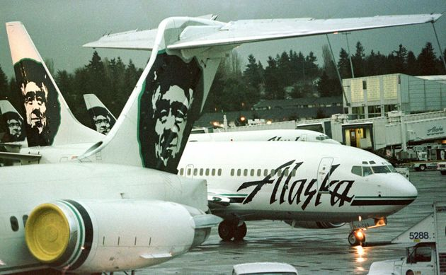 The incident occurred on board an Alaska Airlines flight from Seattle to San Francisco in 2011 (file