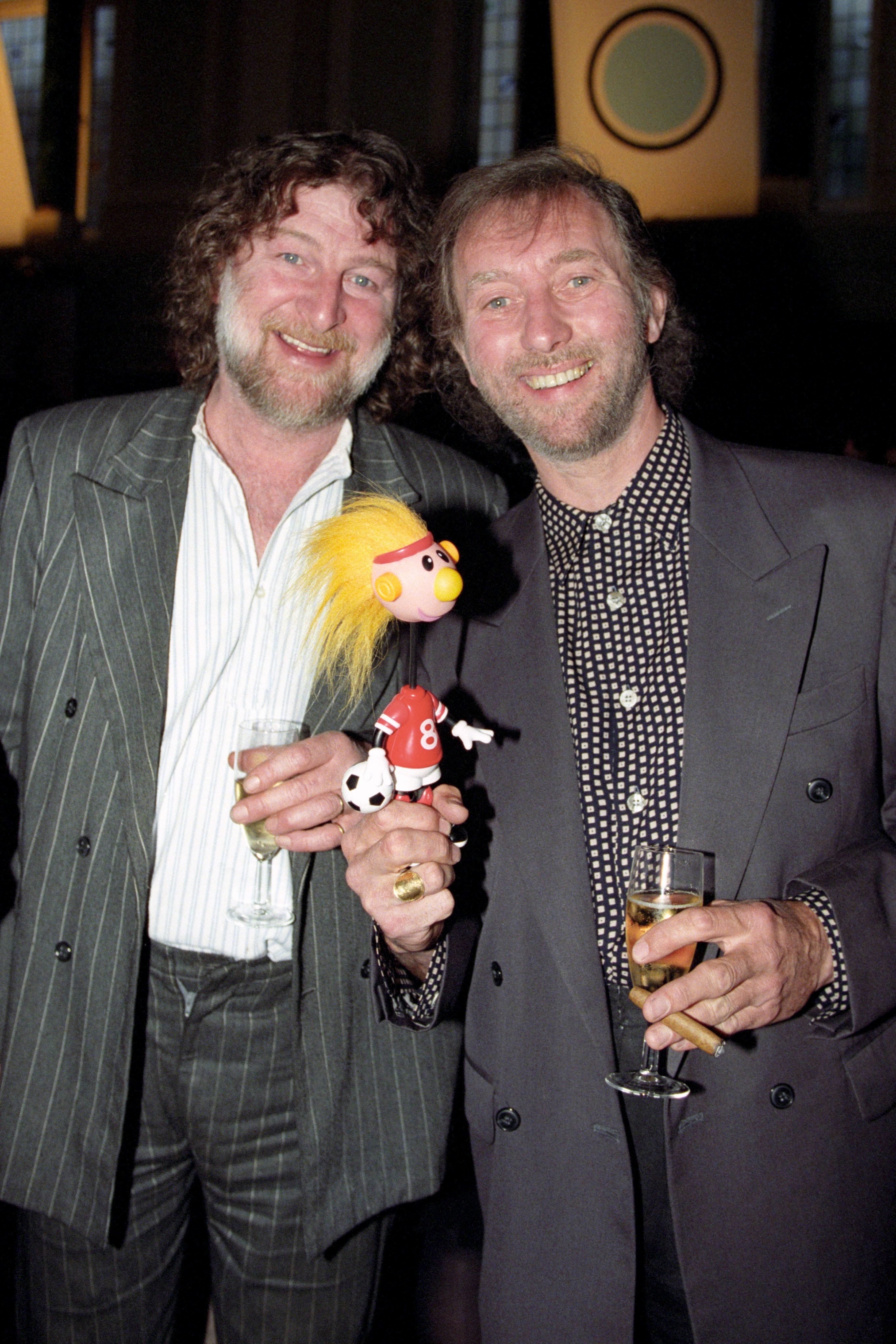 Veteran rocker Chas Hodges (left) has revealed he's been diagnosed with cancer of the
