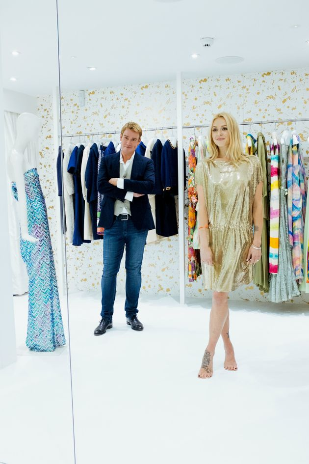 Fearne Cotton is schooled in vintage by William