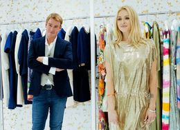 Fearne Cotton Learns How You Could Become A Fashion Designer's Muse