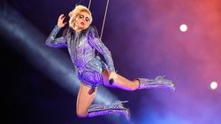 Wait, So Lady Gaga Didn't Actually Jump Off The Roof At The Super